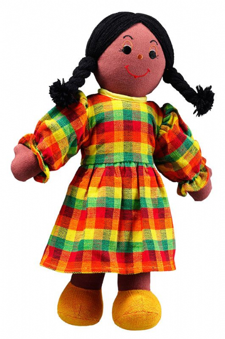 Fair Trade Fabric Parent Dolls